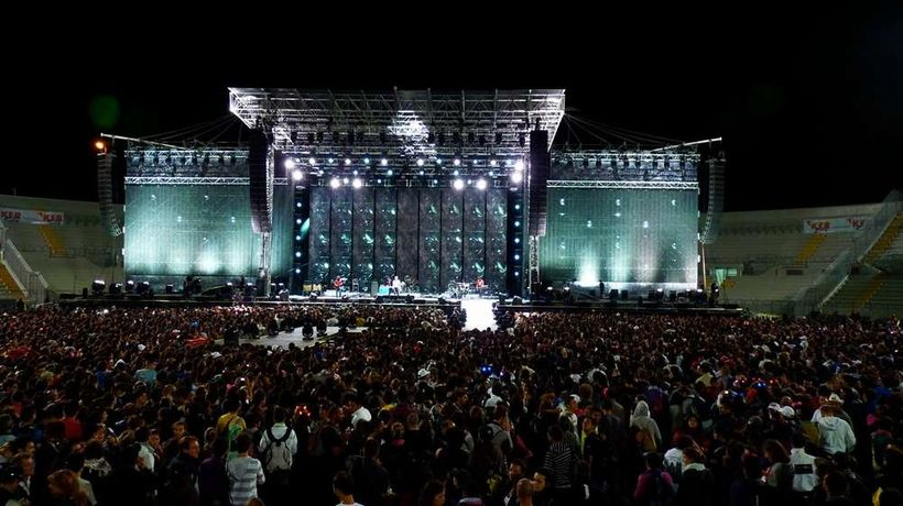 Ligabue 2010 - photo by Giacomo Ferri