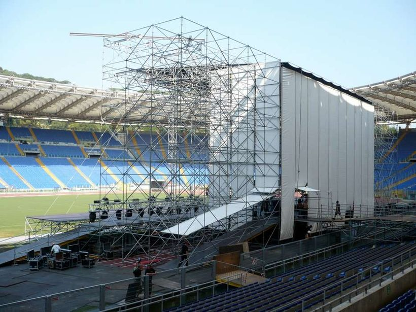 Stadio Olimpico - Back Stage - photo by Matteo Rizzetto