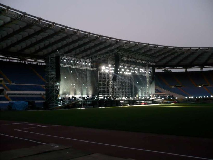 Olimpico - prove luci - photo by Matteo Rizzetto